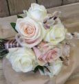 Bridesmaids Pinks and Creams bouquet